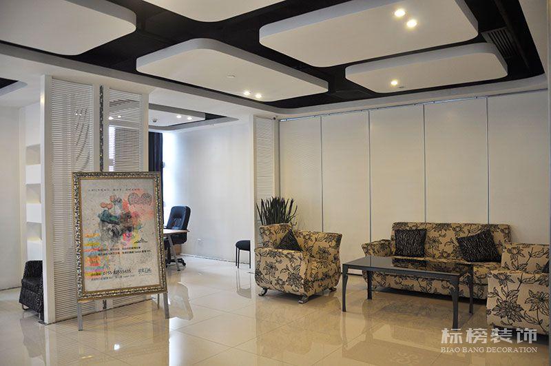 京基100大厦深圳甜蜜王国婚庆公司办公室装修2