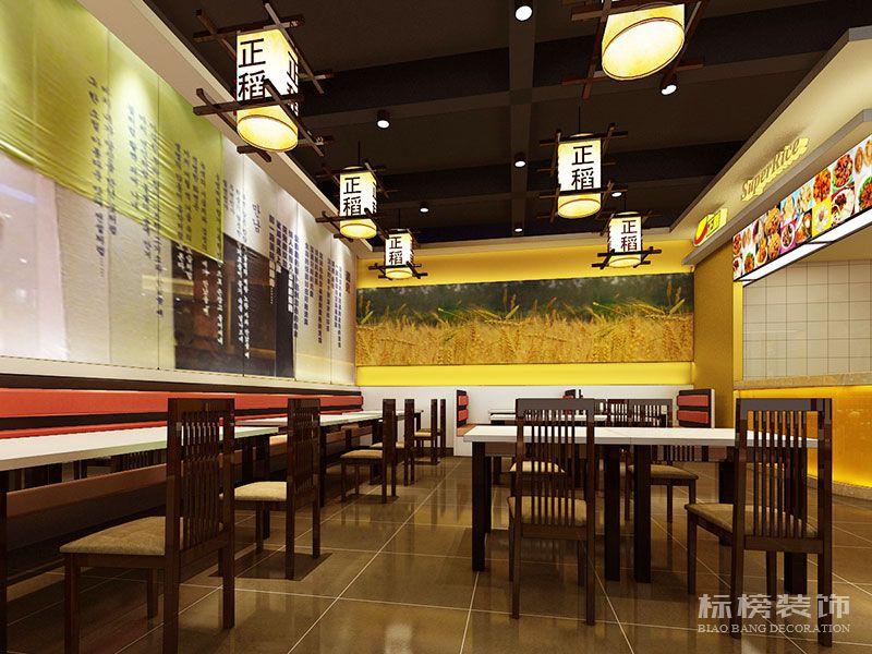 深圳正稻餐厅装修