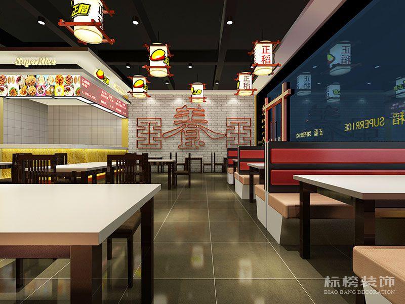 深圳正稻餐厅装修7