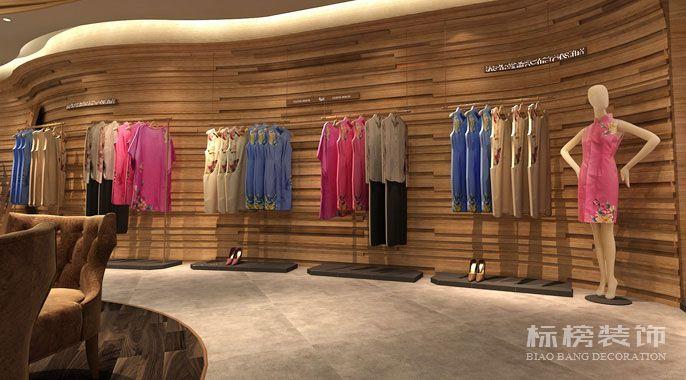布衣斋服装店铺装修8
