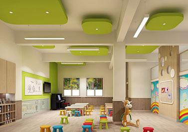 绿韵幼儿园装修