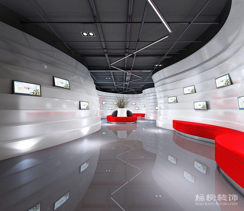 鹏骋公司展厅设计装修2