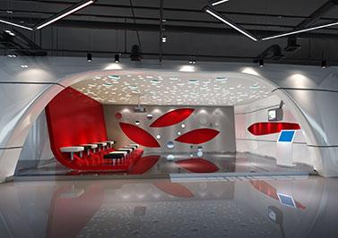 鹏骋公司展厅设计装修