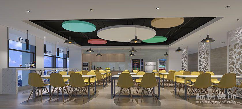 龙华-汇海广场-一卡易科技股份办公室装修-休闲茶水区